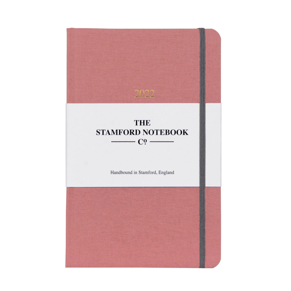 2022 Woven Cloth Diary Rose Pink