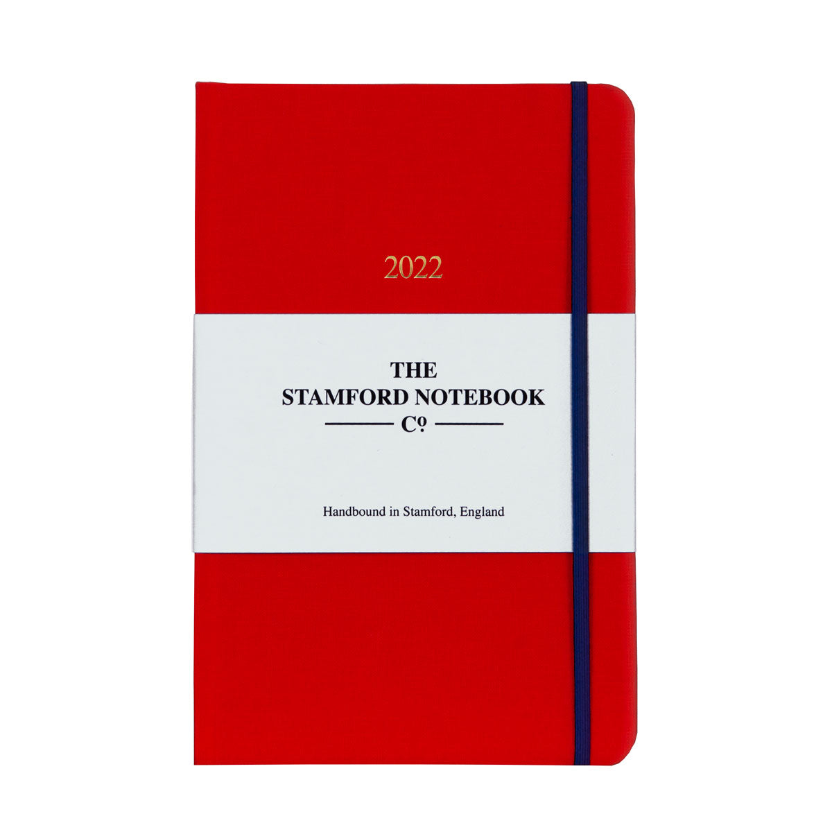 2022 Woven Cloth Diary True Red