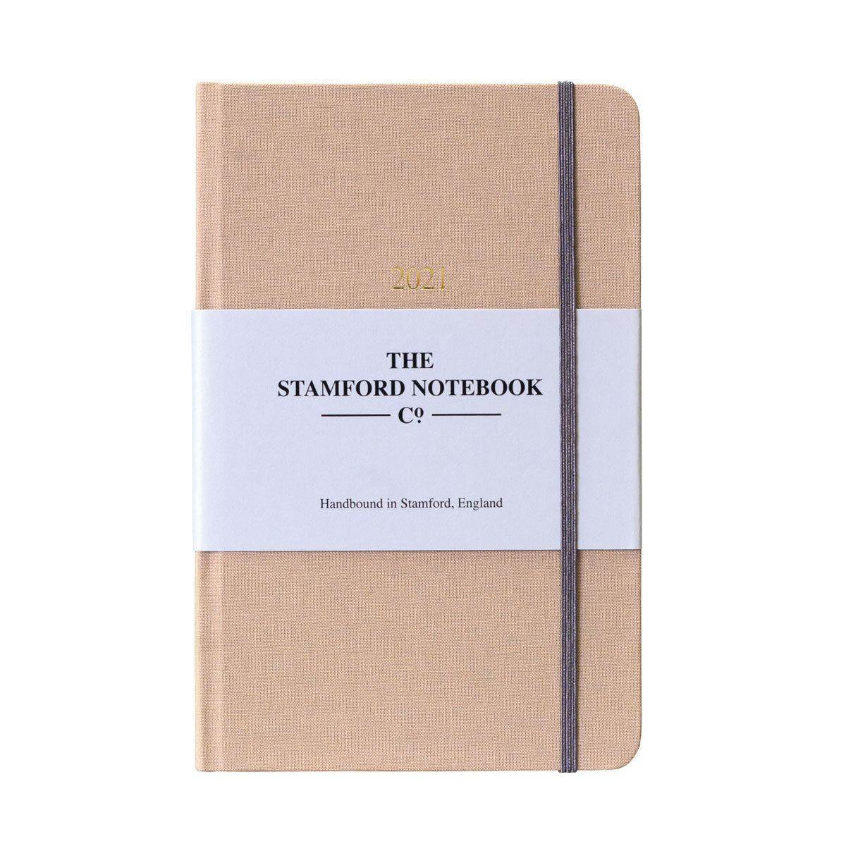 The Woven Cloth Calm and Classic Diary - Beige