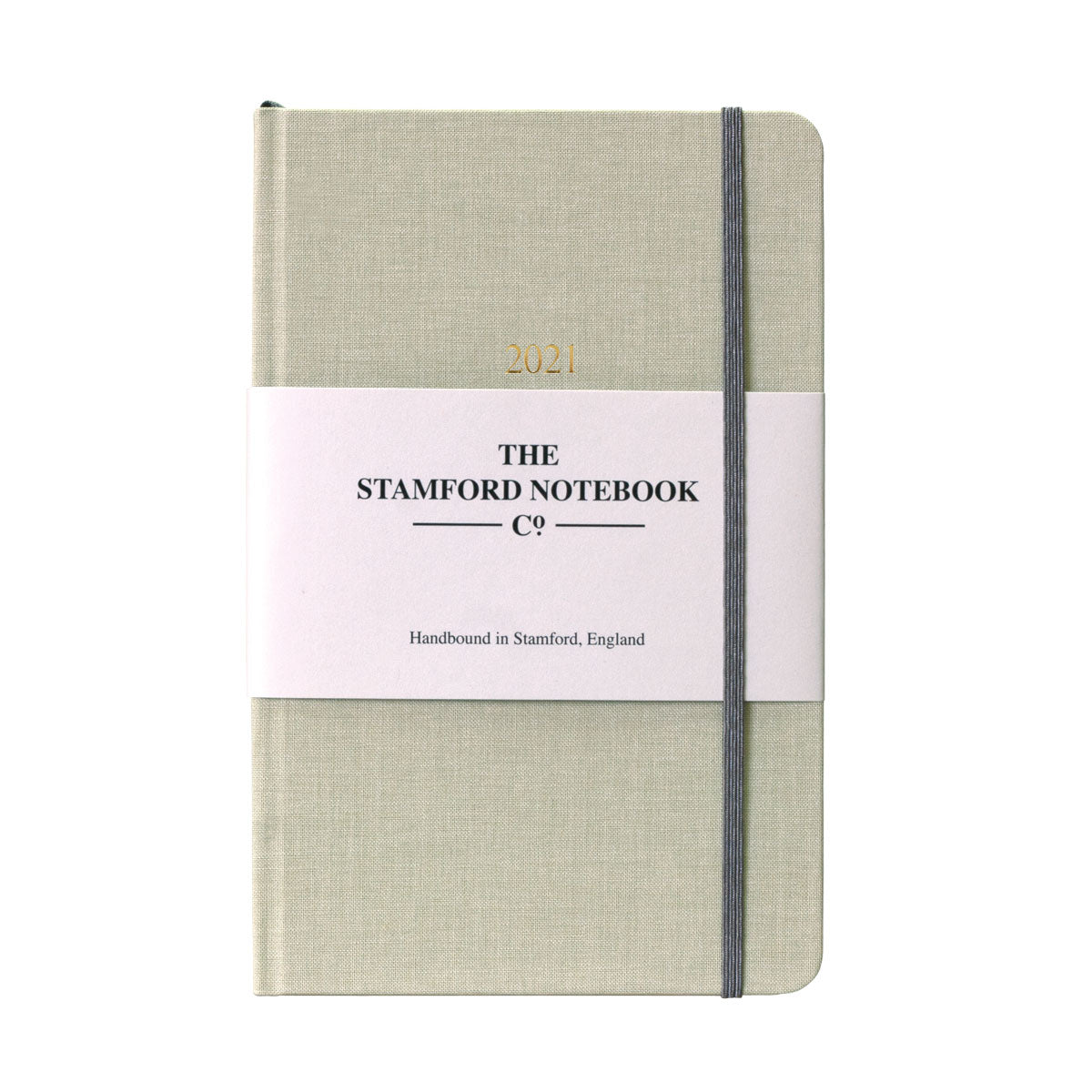 The Woven Cloth Calm and Classic Diary - Pistachio