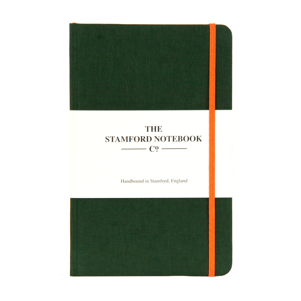 The Limited Edition Woven Cloth Notebook - Racing Green