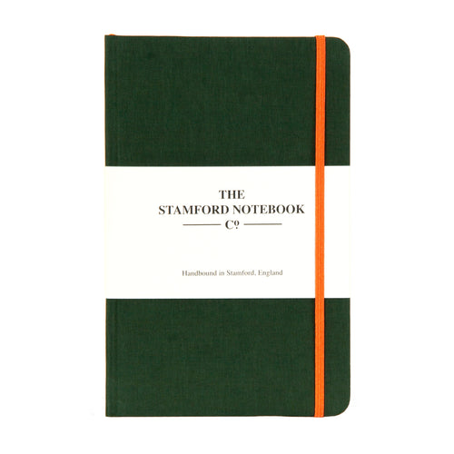 Limited Edition Racing Green Woven Cloth Notebook