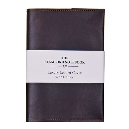 Luxury Leather Cahier Cover