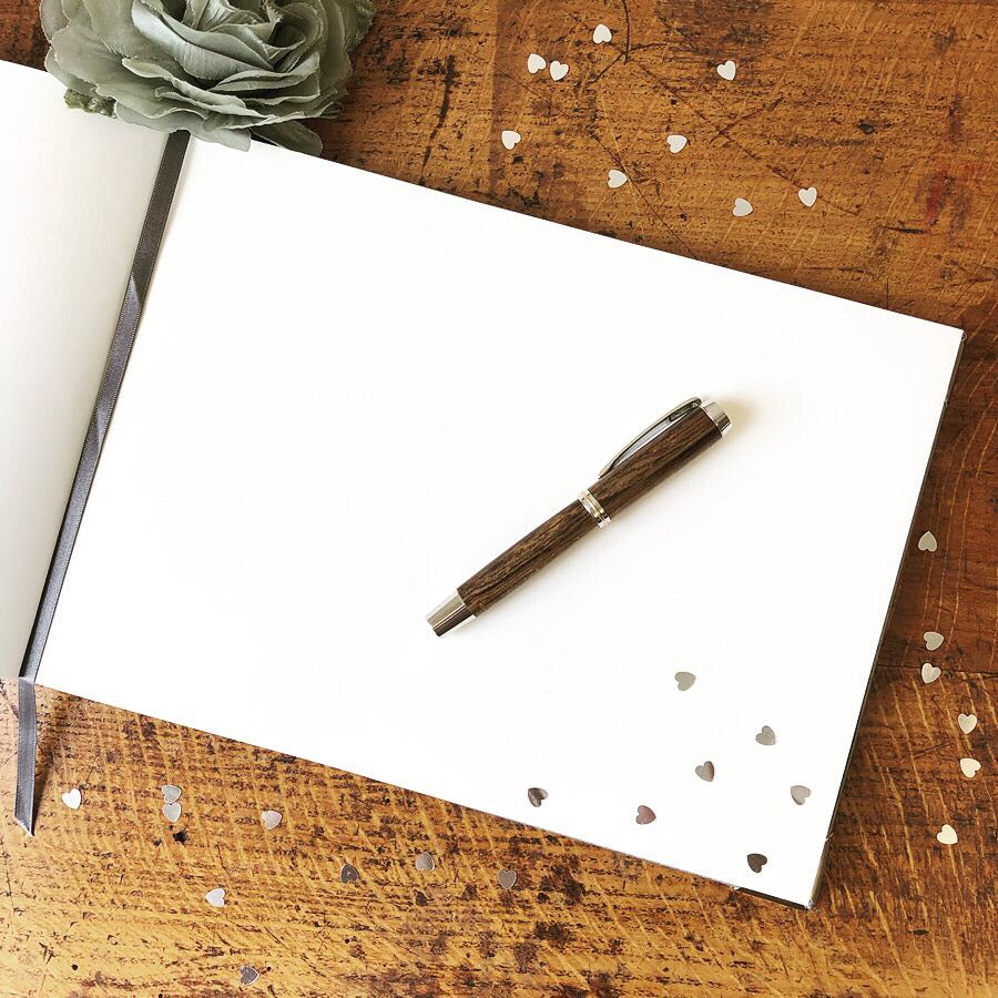 Internal Image of Luxury Wedding Guest Book