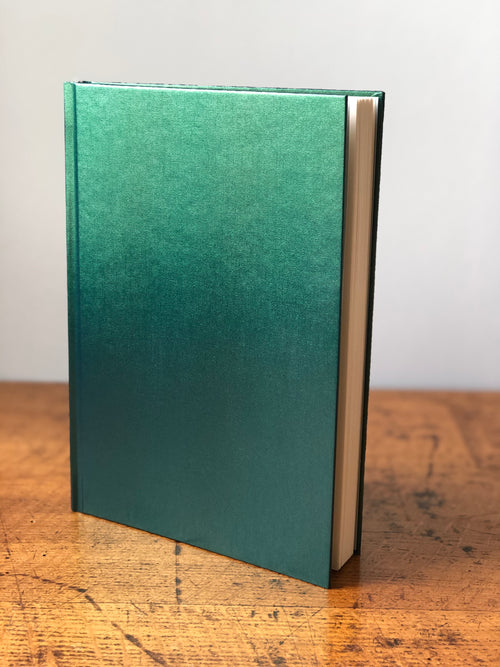Illusion notebook A5 laser green