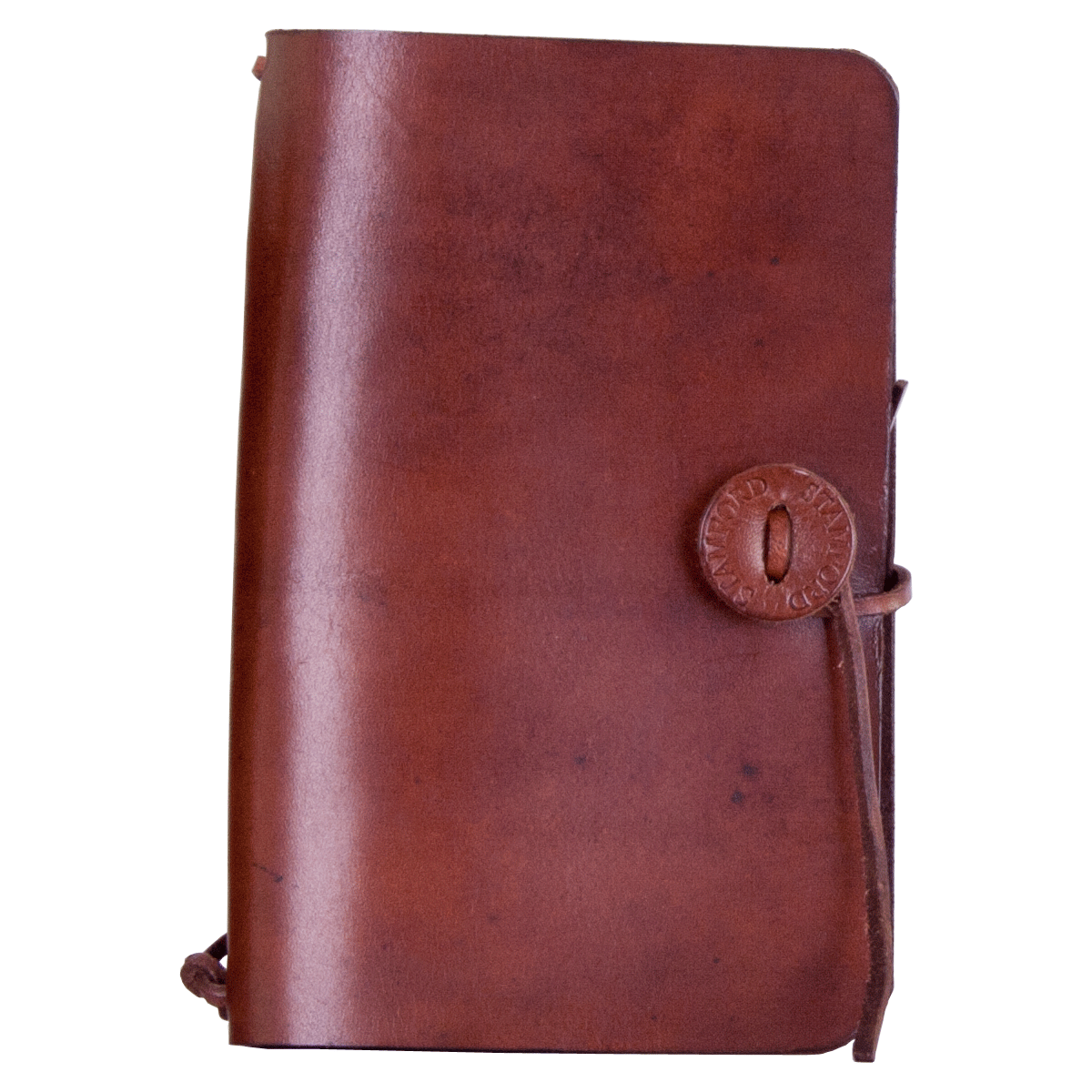 Pocket Traveller Mid Brown, part of the Luxury Leather Travel Set