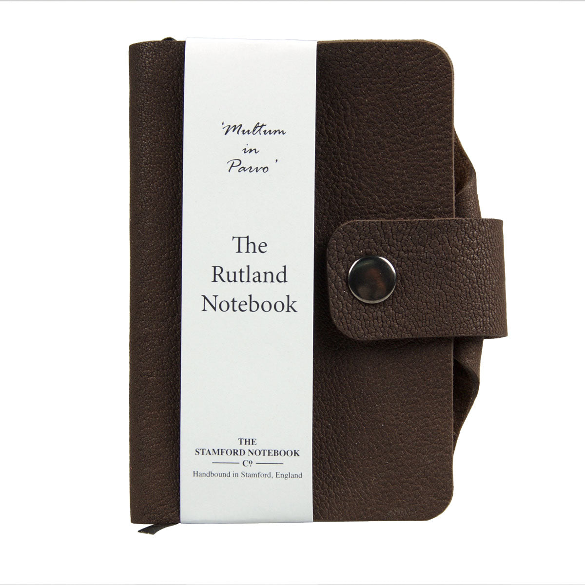 dark brown luxury leather handbound rutland notebook