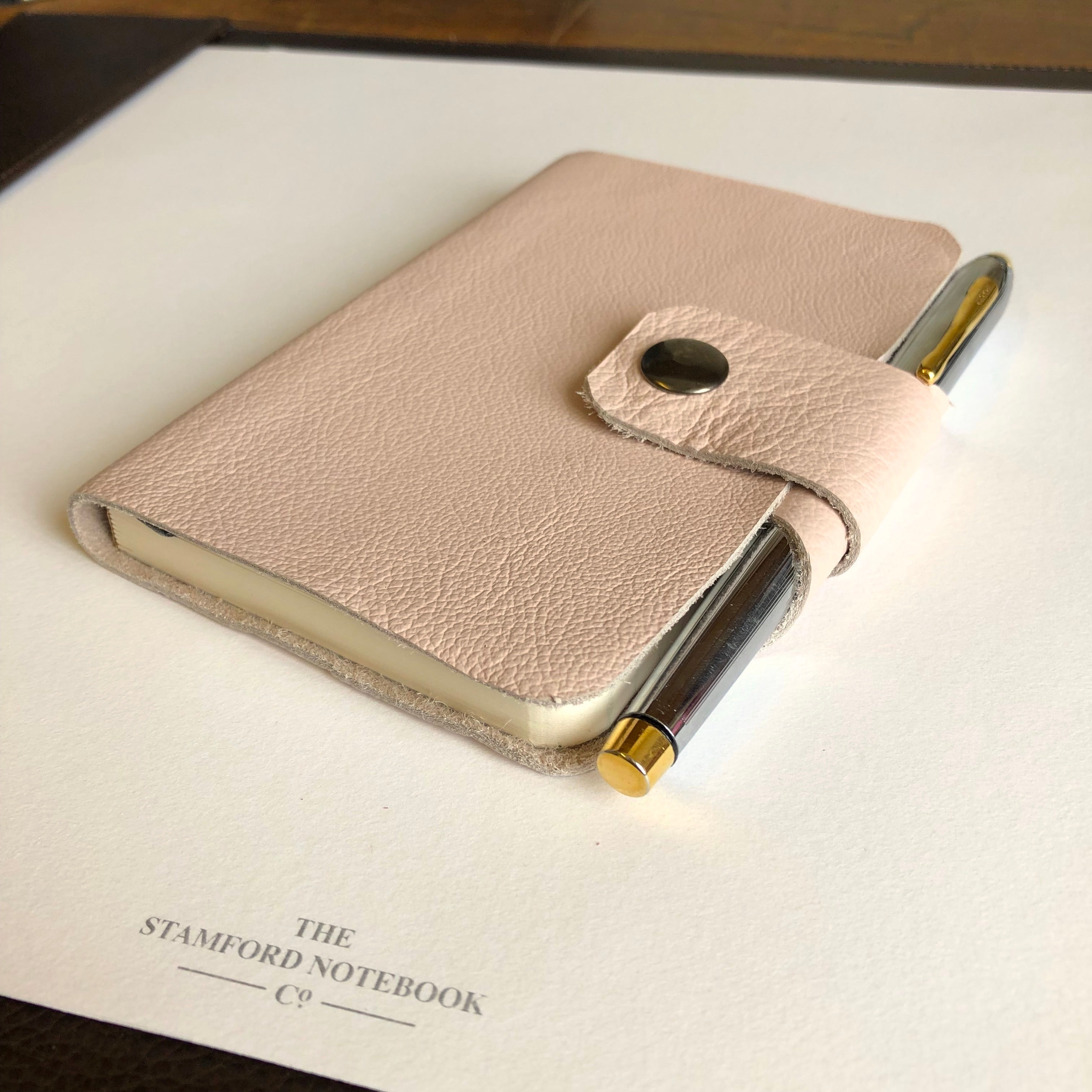 Rutland Luxury Leather Notebook with pen