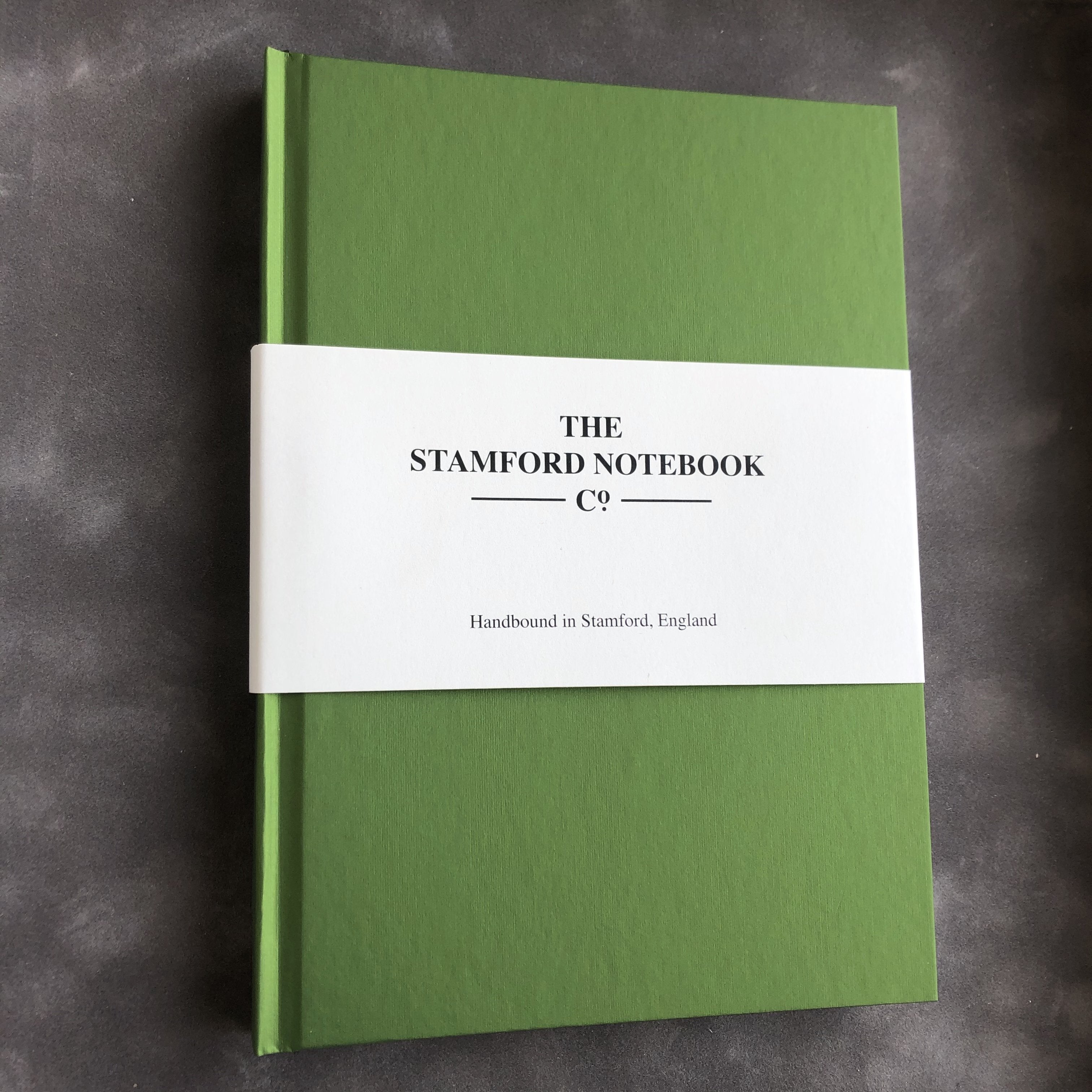 the shimmer collection notebook peridot green