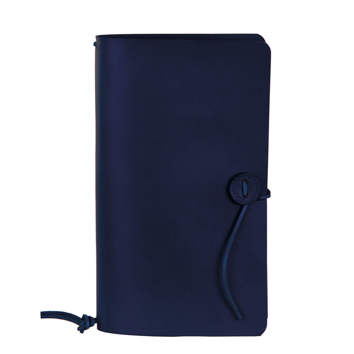 Image of Leather Travellers journal Royal Blue