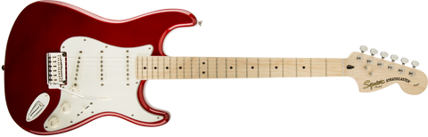 Squier Standard Stratocaster Candy Apple Red