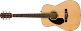 Fender CC-60S Left Handed Acoustic Guitar in Natural