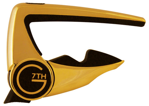 G7TH CAPO ACOUSTIC / ELECTRIC GUITAR GOLD