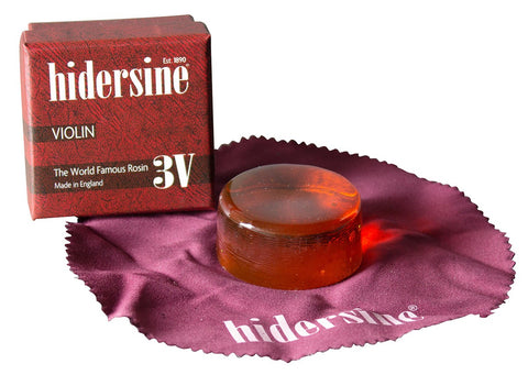 HIDERSINE ROSIN VIOLIN CLEAR MEDIUM 3V