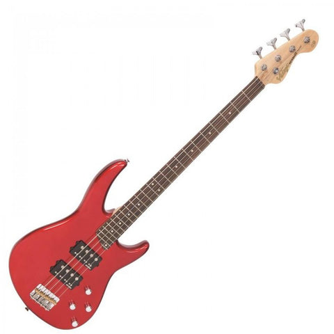 Vintage Reissued V90 Bass Candy Apple Red