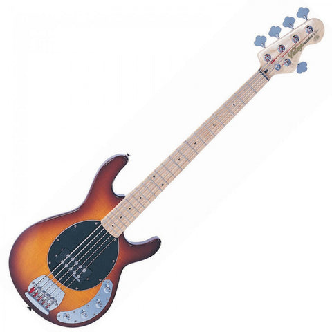 Vintage Reissued V96 5-String Active Bass Flamed Tobacco Sunburst