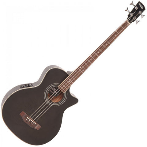 Vintage Electro Acoustic Bass Thru Black