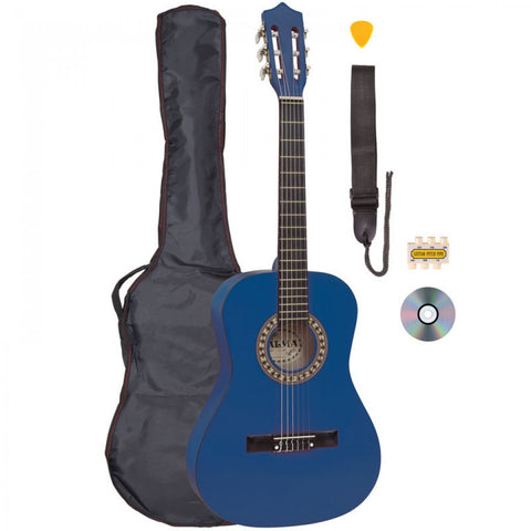 Palma 3/4 Size Junior Guitar Outfit Blue