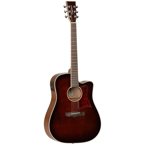 Tanglewood TW5 WB Winterleaf  Electro Acoustic Guitar Whiskey Brown