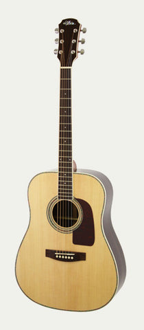 Aria AD25 Dreadnought Guitar in Natural