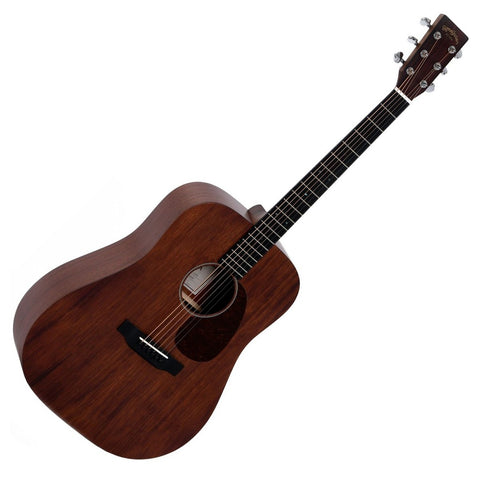 Sigma DM-15+ Acoustic Guitar, Solid Mahogany