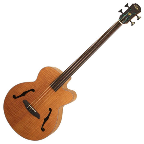 Aria Fretless Bass Guitar