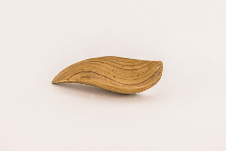 Teak houten amuse lepel - Living by Prananatha
