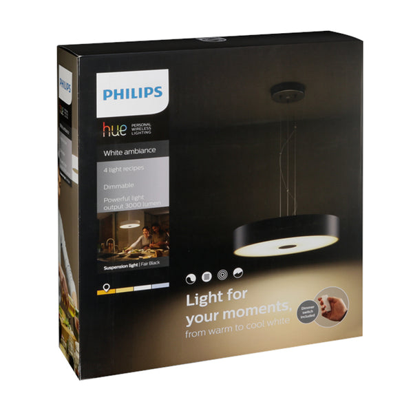 PHILIPS Hue Fair Pendant White Ambience Black - 915005401701