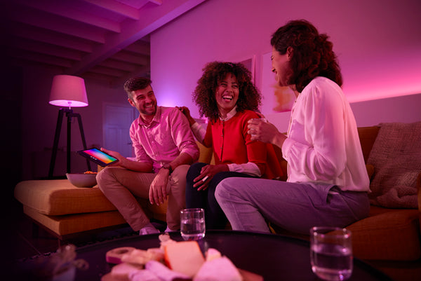 PHILIPS Hue White and Color Ambiance Starter Kit UK (B22) - 929001257461