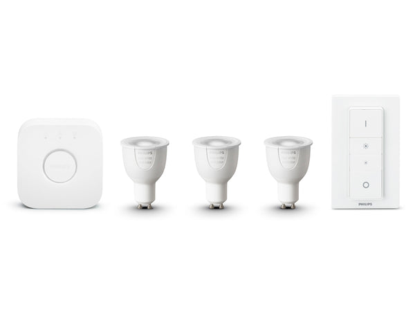 PHILIPS Hue White and Color Ambiance Starter Kit UK/EU (GU10) - 929000261761