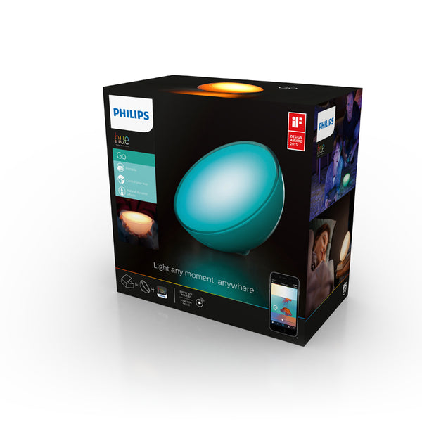 PHILIPS Hue Go White & Color Ambiance - 915004576901