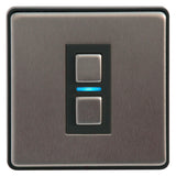 Lightwave Smart Dimmer Stainless Steel L21 Generation 2
