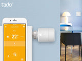 Tado Smart Radiator Thermostat - Vertical - SRT01V-TC-ML-03