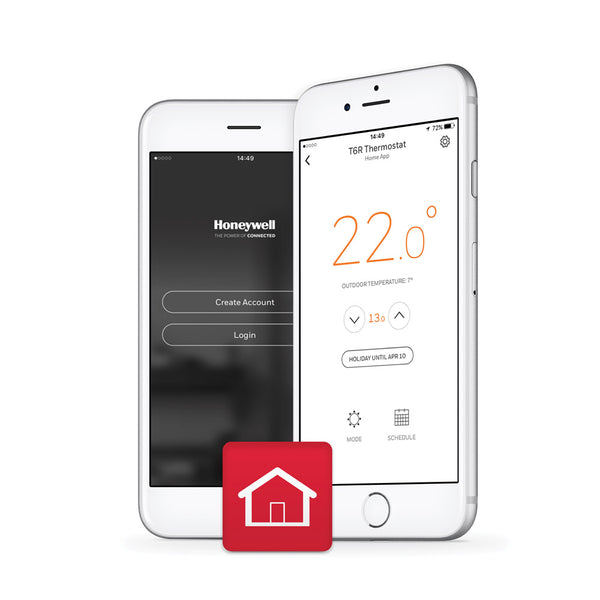 Honeywell Lyric T6R Wireless Smart Thermostat Kit