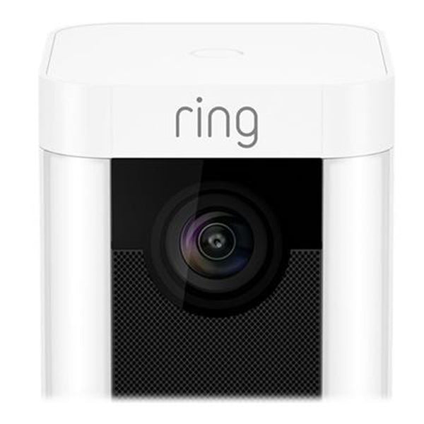 Ring Spotlight Camera White Battery Operated 8SB1S7 WEU0