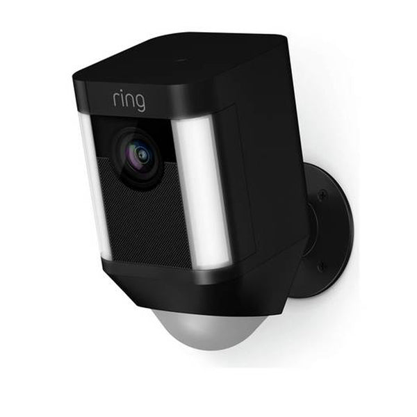 Ring Spotlight Camera Black Battery Operated 8SB1S7-BEU0