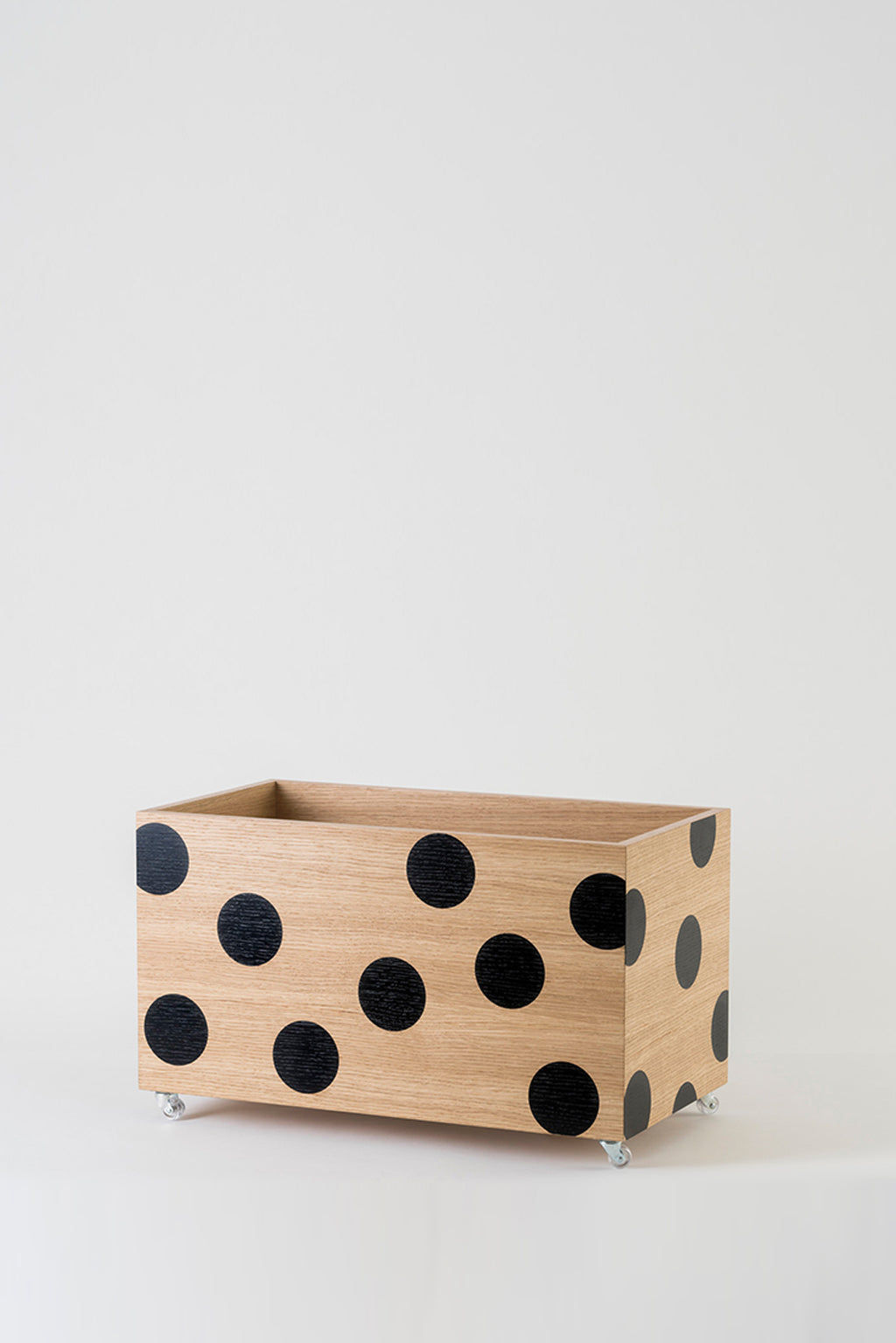 Wooden Toybox on Wheels
