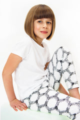 Trendy monochrome Leggings Made in Britain, Unisex