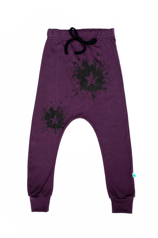 Star Splat Baggy Jogger for Kids