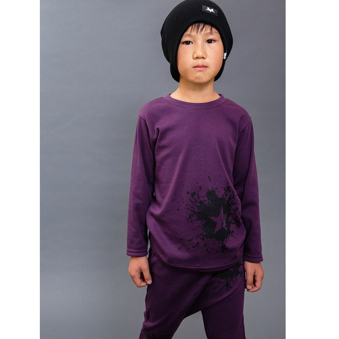 Star Splat Long Sleeved T-Shirt