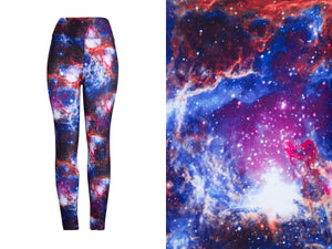 Natopia Ultimate New Galaxy Leggings Curvy Plus Size Fits Size 16-22