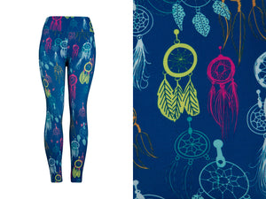 Natopia Ultimate Dreamcatcher Delight Leggings Curvy Plus Size Fits Size 16-22