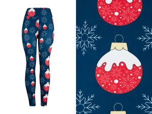 Natopia Ultimate Frosty Bauble Leggings One Size Fits 8-14