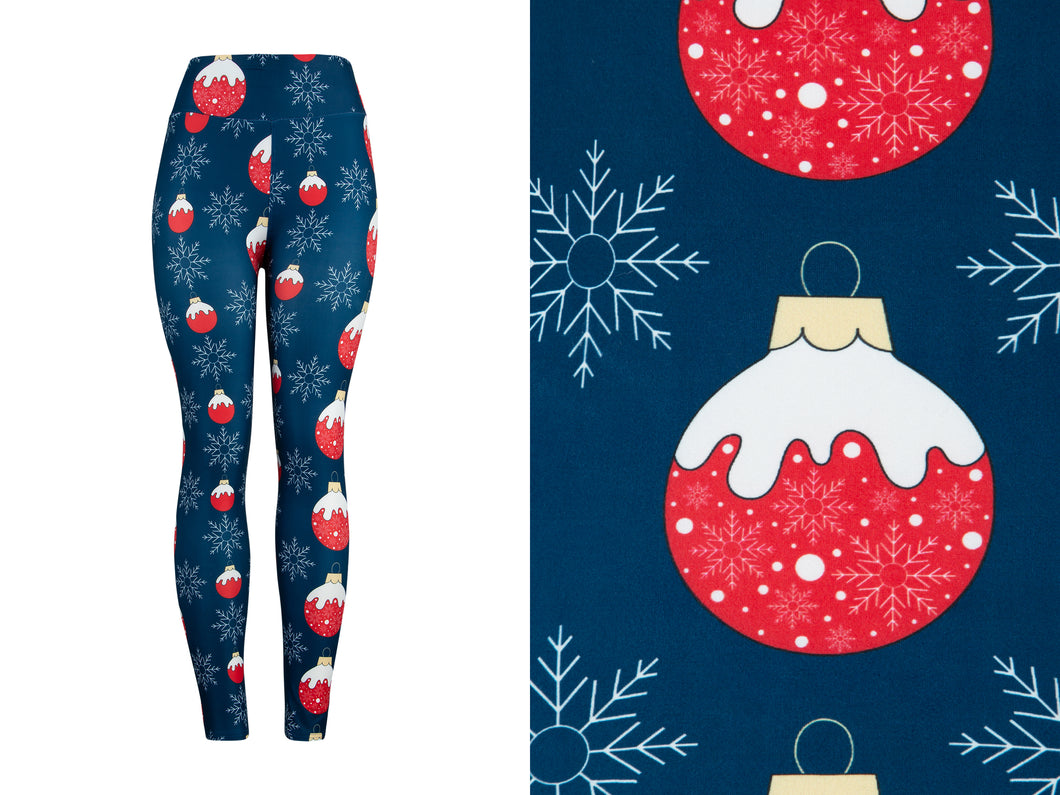Natopia Ultimate Frosty Bauble Extra Curvy Plus Size Leggings Size 22-28