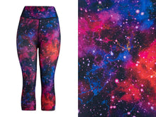 Natopia Super Soft Outer Space Capri Extra Curvy Fits Size 22-28