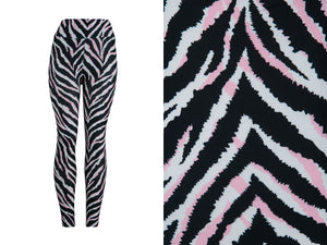 Natopia Ultimate Pink Tiger Leggings Curvy Plus Size Fits Size 16-22