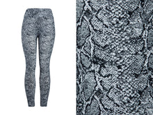 Natopia Super Soft Snakeskin Leggings Curvy Plus Size Fits Size 16-22