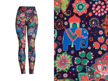 Natopia Deluxe Elephant Party Leggings One Size Fits 8-14
