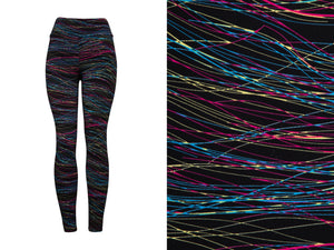 Natopia Super Soft Silly String Leggings Plus Size Fits 16-22