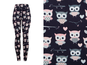 Natopia Deluxe Owl Surprise Leggings One Size Fits 8-14
